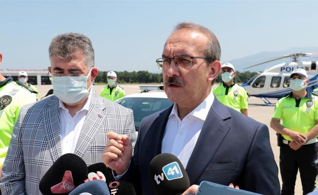 Kocaeli Valisi Yavuz, bayram tatili dolayısıyla alınan trafik tedbirlerine ilişkin bilgi verdi