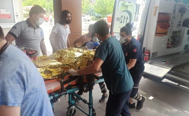 Kocaeli'de boğulma tehlikesi geçiren çocuk hastaneye kaldırıldı