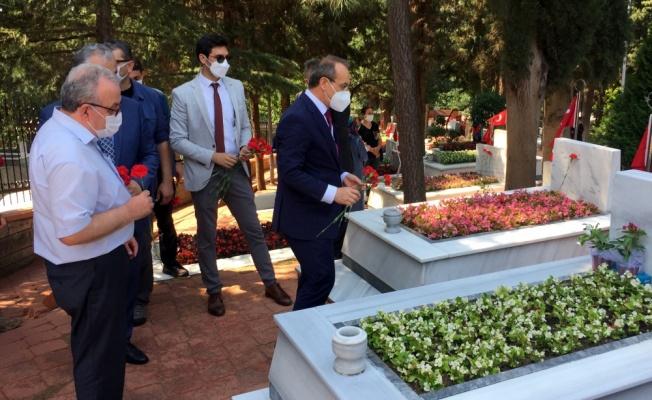 Kocaeli'de Kurban Bayramı arifesinde şehitlik ziyaretleri yapıldı