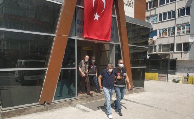 Kocaeli'de yankesicilik yaptıkları iddiasıyla İstanbul'da yakalanan 2 zanlı tutuklandı