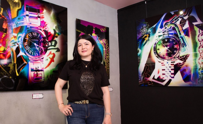 Lüksü sanatla buluşturan sanatçı Bodrum'da