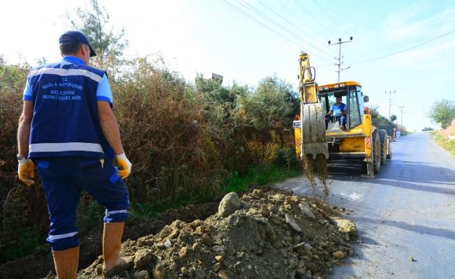 Muğla'da 8 mahalleye kanalizasyon hattı