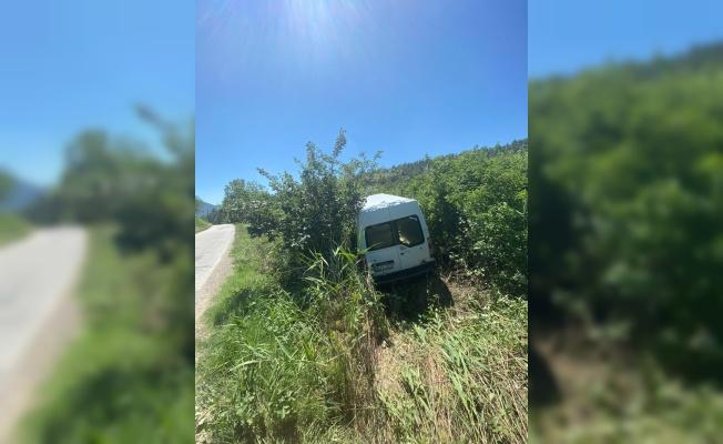 Taraklı'da trafik kazaları: 2 yaralı