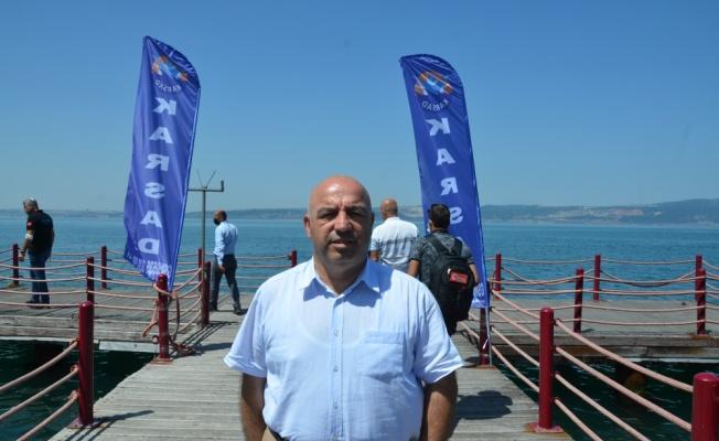 Kocaeli'de su altındaki