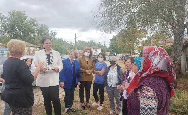 AK Parti Edirne İl Başkanı İba, Uzunköprü ilçesine bağlı köyleri ziyaret etti
