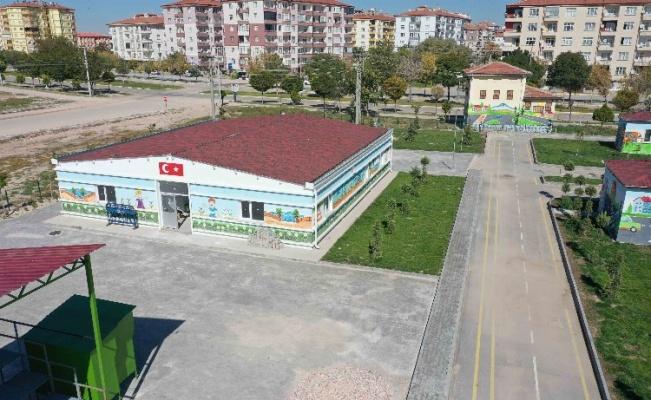 Aksaray Belediyesi'nden Trafik Eğitim Parkı