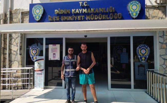 Aydın Didim'de suç makinesi tutuklandı