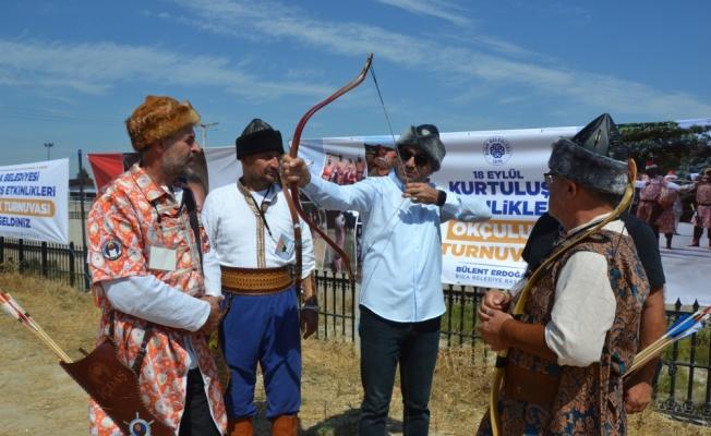 Biga'nın kurtuluşunun 99. yıl dönümü etkinlikleri okçuluk festivaliyle devam etti