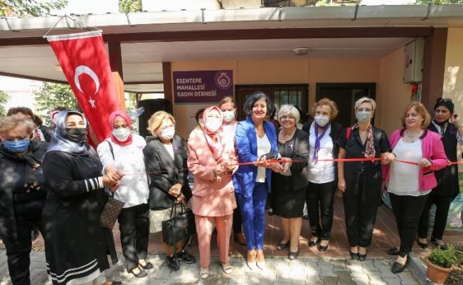Bursa'da Esentepeli kadınlar yeni mekanlarına kavuştu