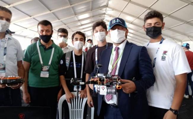Bursalı 'TEKNOFEST'çiler performans yarışında