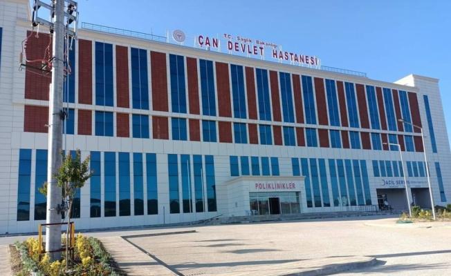 Çan Devlet Hastanesinin yeni hizmet binasında hasta kabulüne başlandı