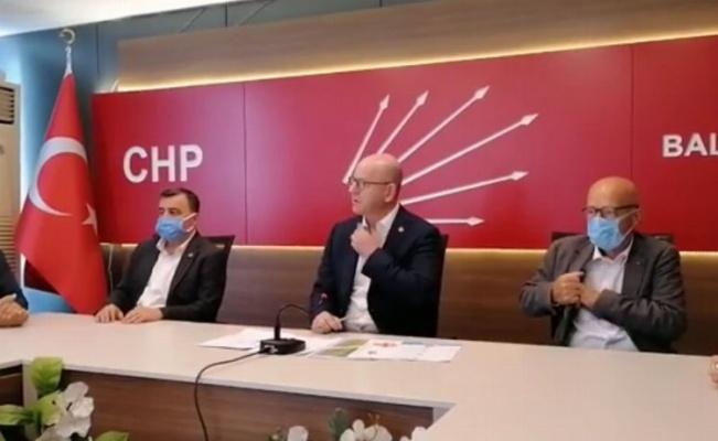 """CHP: """"Balıkesir'de tarım ve hayvancılık bitirilmek isteniyor"""""""
