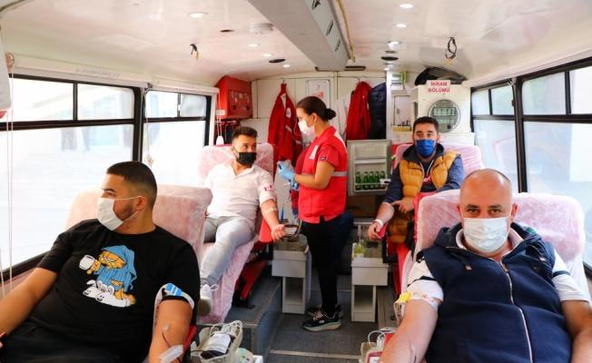 Çiftlikköy'de kan bağışı kampanyası düzenlendi