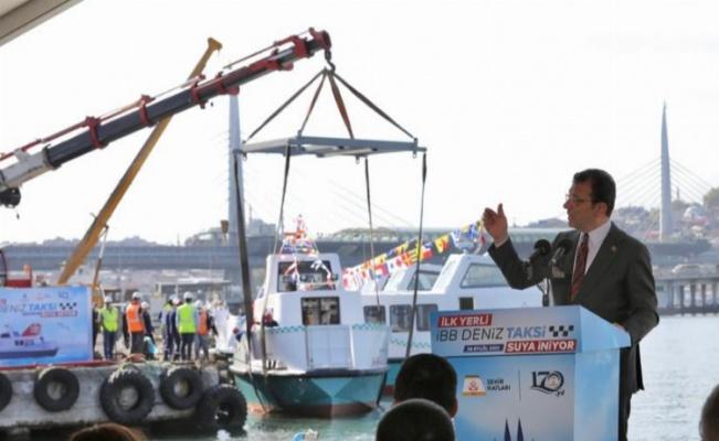 Deniz Taksiler'den 8'i suya indi