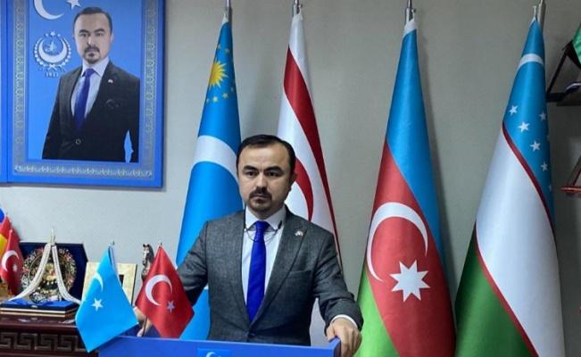 """Doğu Türkistan Cumhurbaşkanı Osman: """"Her zaman Azerbaycan'ın yanındayız"""""""