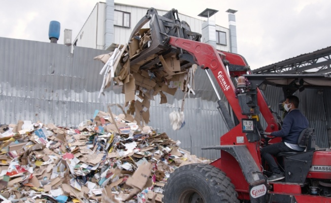 Güngören'de 3 bin 450 ton atık ekonomiye kazandırıldı
