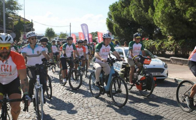 İzmir'de UNESCO Yolu'nda 7. Bisiklet Turu tamamlandı