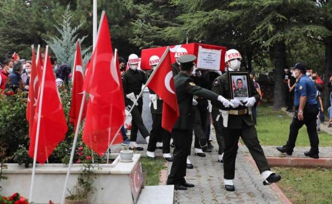 Konya, Pençe-Şimşek şehidini uğurladı