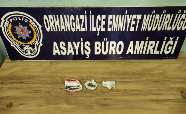 Orhangazi'de uyuşturucu operasyonlarında 4 şüpheli yakalandı