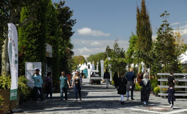 Peyzaj, Süs Bitkileri, Bahçe Sanatları ve Ekipmanları Fuarı'nı 30 bin kişi ziyaret etti