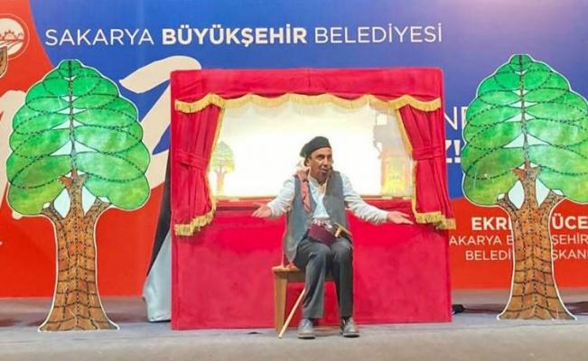 Sakarya'da minikler Karagöz'ü sevdi