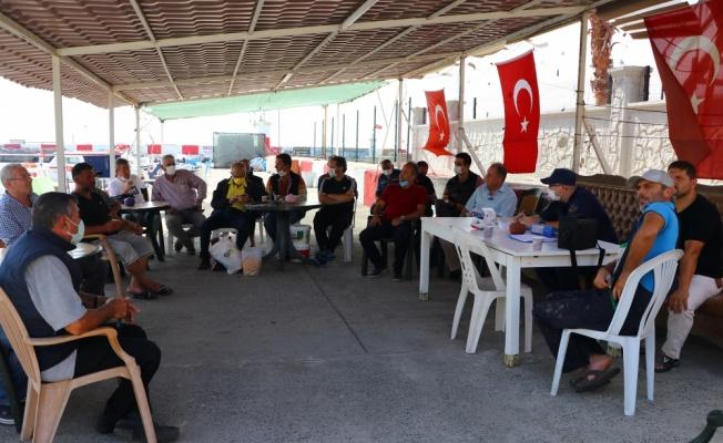 Tekirdağ'da balıkçılar bilgilendirildi