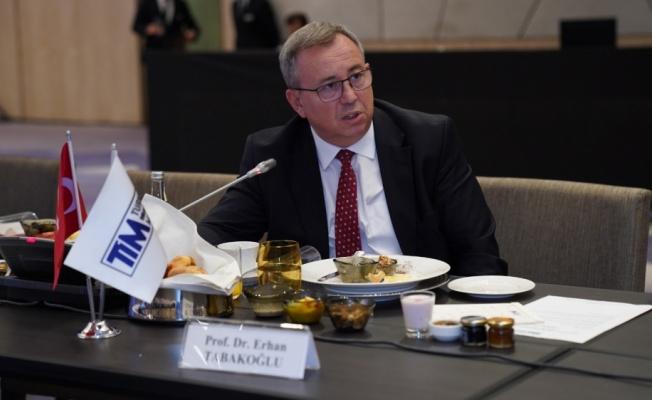 Trakya Üniversitesi Rektörü Tabakoğlu TİM Sanayide Sürdürülebilirlik Bilim Komitesi üyeliğine seçildi