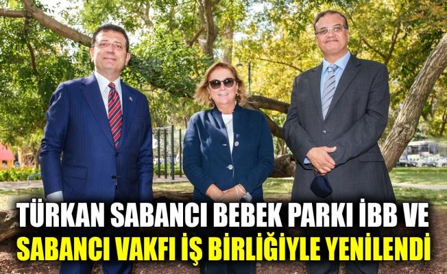 Türkan Sabancı Bebek Parkı İBB ve Sabancı Vakfı iş birliğiyle yenilendi