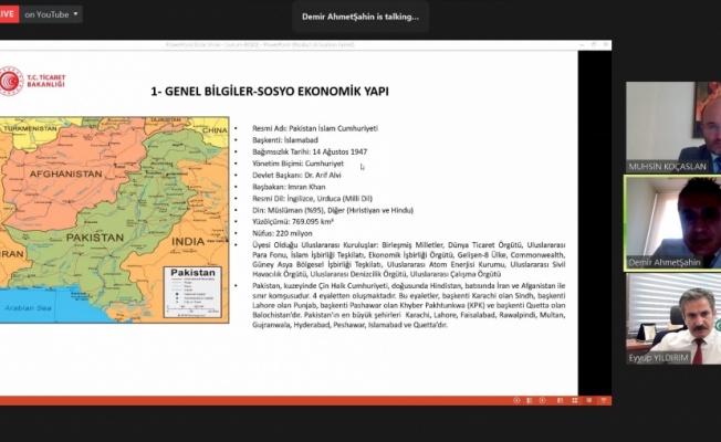 Türkiye-Pakistan ticaretinin, demir yolu seferleriyle artırılması hedefleniyor
