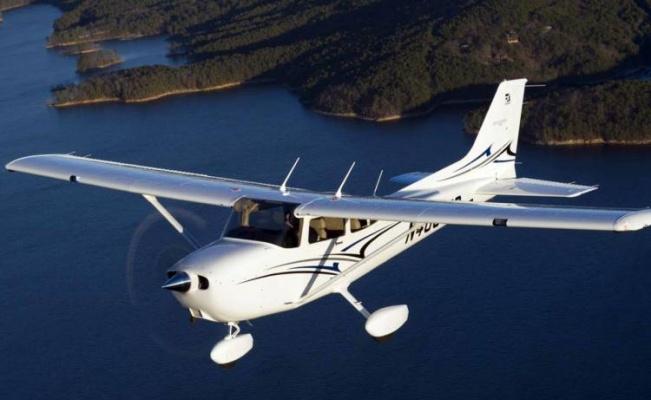 Yunanistan'da eğitim uçağı düştü: 2 ölü!