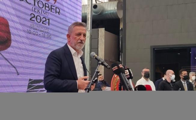 45. Uluslararası İnegöl Mobilya Fuarı açıldı
