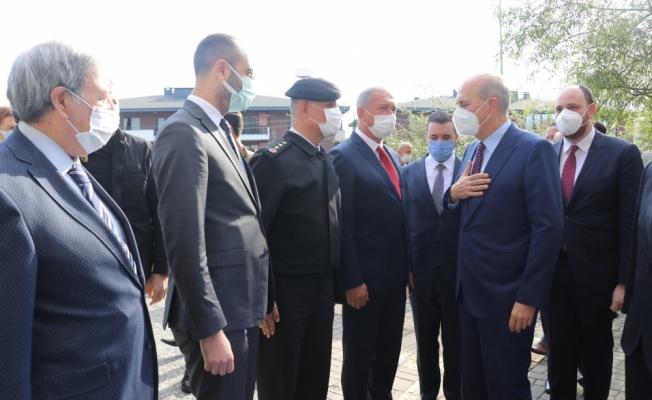 AK Parti'li Kurtulmuş, Yalova Üniversitesinin yeni akademik yıl açılışında konuştu: