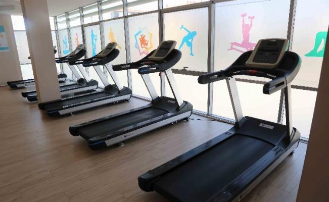 Aksaray AKMEK'te kadınlar için spor zamanı