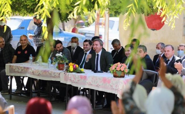 Aksaray Valisi Aydoğdu, Balcı Mahallesi'ni ziyaret etti