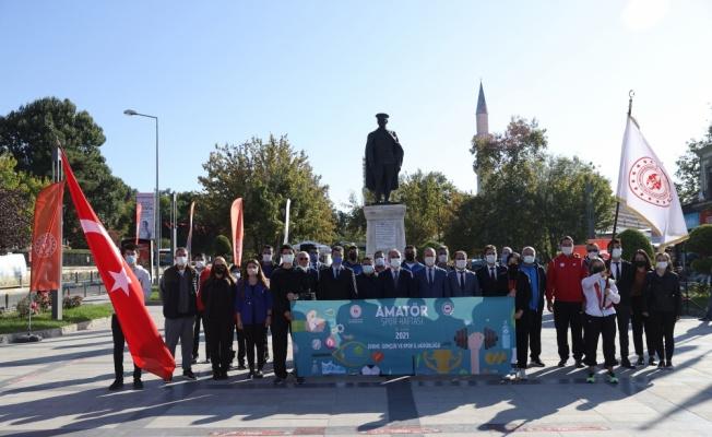 Amatör Spor Haftası törenle başladı
