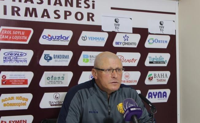 Bandırmaspor-MKE Ankaragücü maçının ardından