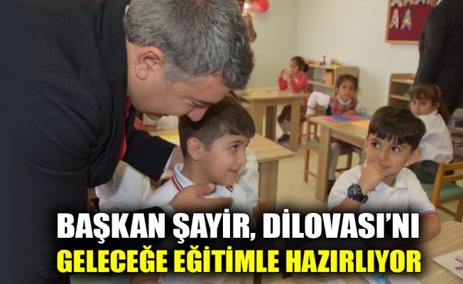 Başkan Şayir Dilovası'nı geleceğe eğitimle hazırlıyor