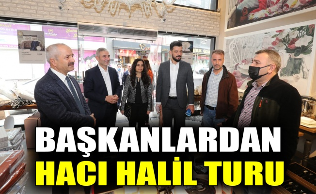 Başkanlardan Hacı Halil turu