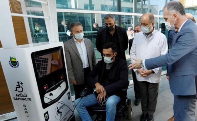 Bursa İnegöl'de iki engelli şarj istasyonu daha hizmette