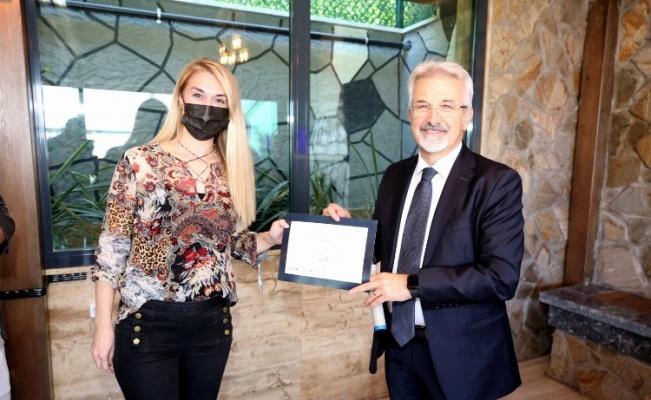 Bursa  Nilüfer Belediye Başkanı Erdem, iç denetçilerle bir araya geldi