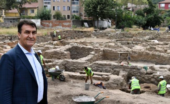 Bursa Osmangazi'de 2 bin 400 yıllık tarih