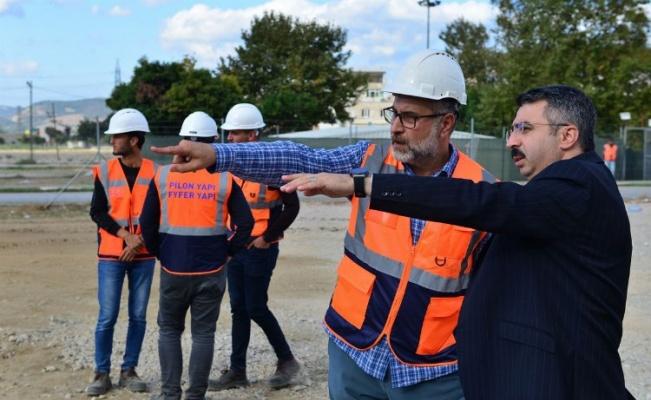 Bursa Yıldırım'da 'kentsel dönüşüm'de hafriyat başladı