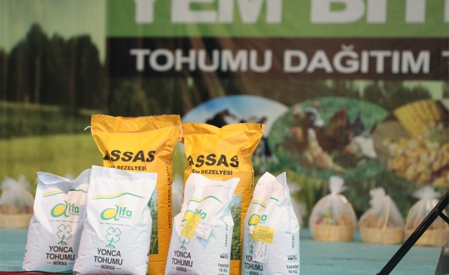 Büyükşehir'den 2700 çiftçiye tohum desteği
