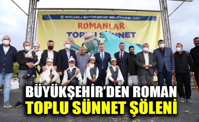 Büyükşehir'den Roman Toplu Sünnet Şöleni