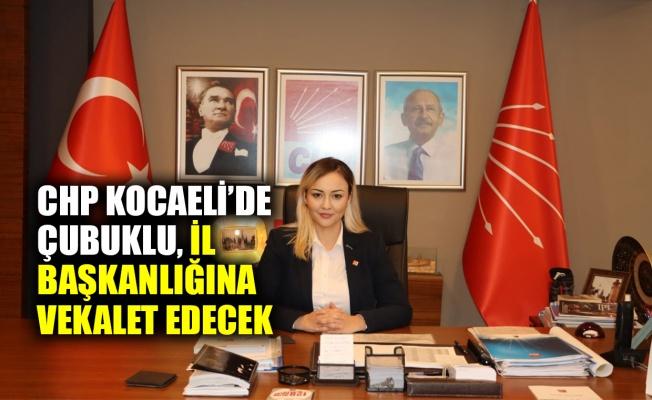 CHP Kocaeli'de İl başkanlığı vekaleti Gülşah Çubuklu'da