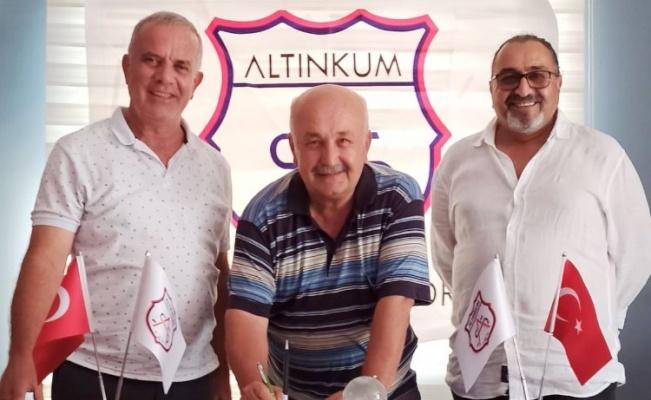 Didim Altınkumspor'un 'Altyapı'sına Burhan Ergin getirildi