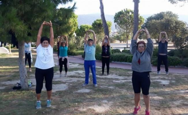 Didim'de sağlık için spor