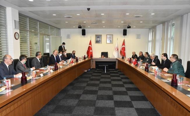 Edirne Valisi Canalp, Kapıkule Sınır Kapısında Bulgar yetkililerle görüştü