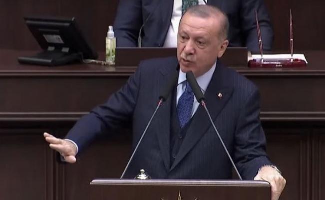 Erdoğan, Akşener ve Kılıçdaroğlu'na yüklendi