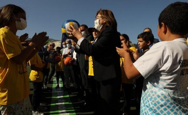 Gaziantep Büyükşehir spor şenliklerine başladı